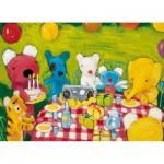 Puzzle-Michele-Wilson-W101-12 Puzzle aus handgefertigten Holzteilen - Penelopes Geburtstag