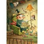 Puzzle-Michele-Wilson-W106-24 Puzzle aus handgefertigten Holzteilen - Gorbine und Monstrocalm
