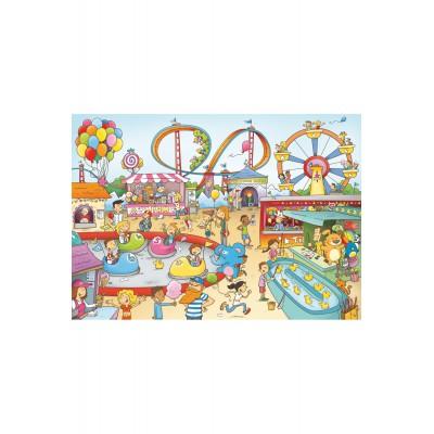 Puzzle Puzzle-Michele-Wilson-W147-100 Laure Cacouault: Vergnügungspark