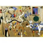Puzzle-Michele-Wilson-W154-50 Puzzle aus handgefertigten Holzteilen - Miro: Carnaval