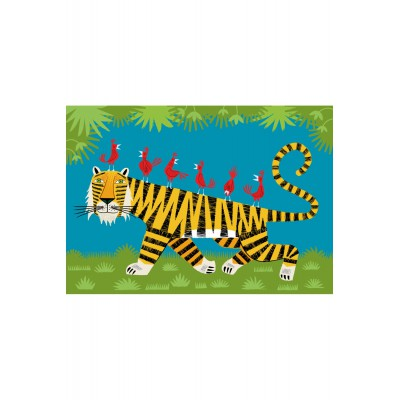 Puzzle-Michele-Wilson-W159-24 Puzzle aus handgefertigten Holzteilen - Der Tiger