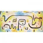 Puzzle-Michele-Wilson-W182-12 Holzpuzzle - Paul Klee: Insula Dulcamara