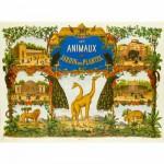 Puzzle-Michele-Wilson-W207-50 Puzzle aus handgefertigten Holzteilen - Der Kräutergarten