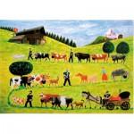 Puzzle-Michele-Wilson-W215-50 Puzzle aus handgefertigten Holzteilen - Ramagli: Poya