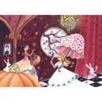 Puzzle-Michele-Wilson-W307-24 Puzzle aus handgefertigten Holzteilen - Cardouat: Die Prinzessinnen