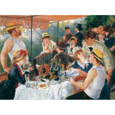 Puzzle-Michele-Wilson-W61-50 Puzzle aus handgefertigten Holzteilen - Renoir: Das Frühstück der Ruderer