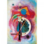 Puzzle-Michele-Wilson-W79-12 Puzzle aus handgefertigten Holzteilen - Wassily Kandinsky: Hommage a Grohmann