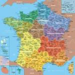 Puzzle-Michele-Wilson-W80-100 Puzzle aus handgefertigten Holzteilen - Frankreichkarte, 1 Departement = 1 Teil