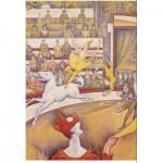Puzzle-Michele-Wilson-W98-24 Puzzle aus Holz 24 handgefertigte Teile MAXI - Michèle Wilson - Georges Seurat: Der Zirkus
