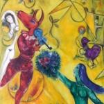 Puzzle-Michele-Wilson-Z64 Puzzle aus handgefertigten Holzteilen - Marc Chagall