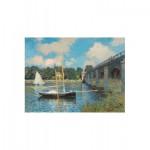 Puzzle-Michèle-Wilson-A246-1000 Puzzle aus handgefertigten Holzteilen - Claude Monet: Die Brücke von Argenteuil