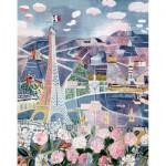 Puzzle-Michèle-Wilson-A851-250 Puzzle aus handgefertigten Holzteilen - Raoul Dufy: Paris im Frühling
