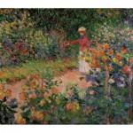 Puzzle-Michèle-Wilson-A979-150 Puzzle aus handgefertigten Holzteilen - Monet: Monets Garten in Giverny