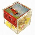 Puzzle-Michèle-Wilson-Cuzzle-Z47 Holzpuzzle - Würfel - Claude Monet: Die roten Boote