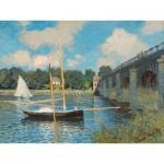 Puzzle-Michèle-Wilson-H246-300 Puzzle aus handgefertigten Holzteilen - Claude Monet: Die Brücke von Argenteuil