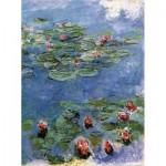 Puzzle-Michèle-Wilson-M24-40 Puzzle aus handgefertigten Holzteilen - Monet: Wasserlilien Nympheas