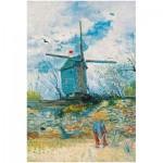 Puzzle   Vincent Van Gogh - Le Moulin de la Galette, 1886