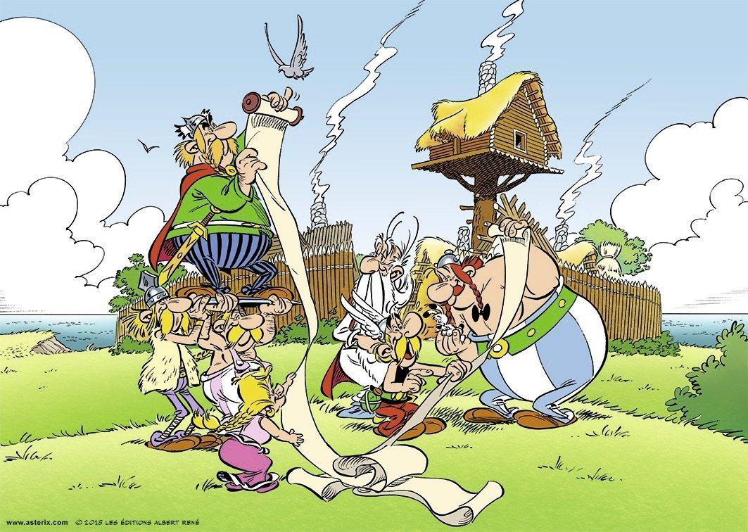 asterix und obelix 1000 teile ravensburger puzzle online kaufen. Black Bedroom Furniture Sets. Home Design Ideas