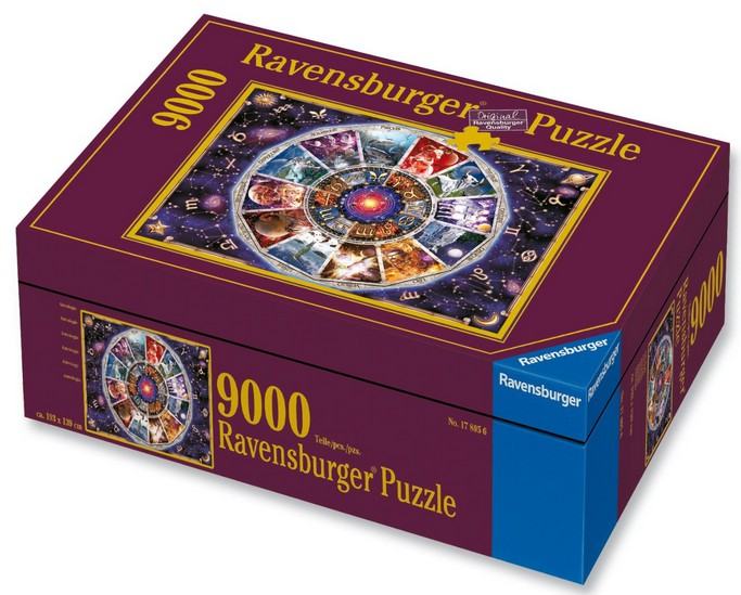 astrologie 9000 teile querformat puzzle ravensburger puzzle online kaufen. Black Bedroom Furniture Sets. Home Design Ideas