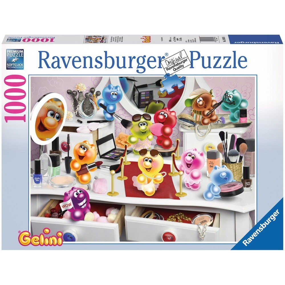 gelini sch nheitssalon 1000 teile ravensburger puzzle online kaufen. Black Bedroom Furniture Sets. Home Design Ideas