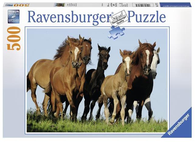 pferde puzzle online