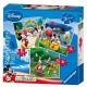 Puzzle 3 Stück - Mickey und seine Freunde: Mickey Mouse Clubhaus