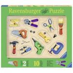 Ravensburger-03669 Holzpuzzle - Meine Werkzeuge