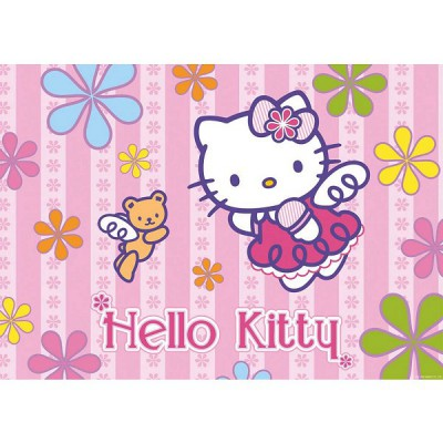 Puzzle Ravensburger-05261 Hello Kitty und der Teddy