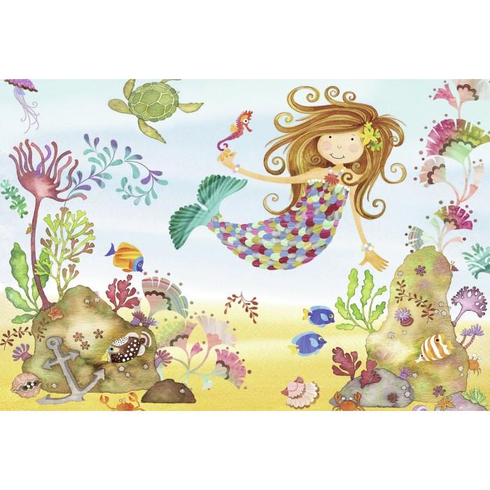 Riesen-Bodenpuzzle - Kleine Meerjungfrau
