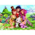 Ravensburger-05411 Riesen-Bodenpuzzle - Mia und ihre Freunde
