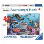 Ravensburger-05432 Riesen-Bodenpuzzle: Findet Nemo