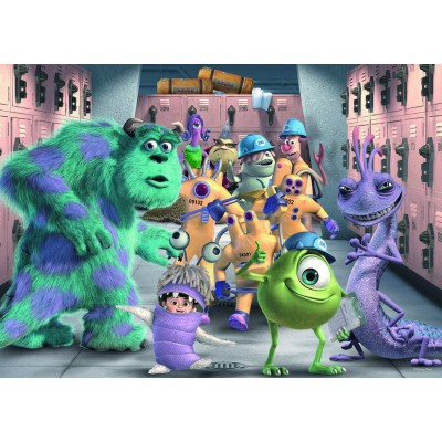 Ravensburger-05433 Riesen-Bodenpuzzle - Disney: Monsters