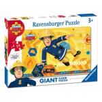 Ravensburger-05446 Riesen-Bodenpuzzle - Fireman Sam