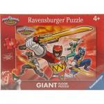Ravensburger-05464 Riesen-Bodenpuzzle - Power Rangers
