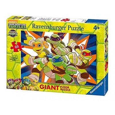 Ravensburger-05471 Riesen-Bodenpuzzle - Ninja Turtles