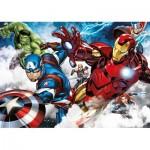 Ravensburger-05490 Riesen-Bodenpuzzle - Avengers