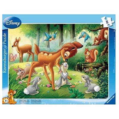 Ravensburger-06003 8 Teile Rahmenpuzzle - Bambi