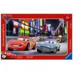 Ravensburger-06006 Puzzle 15 Teile Rahmenpuzzle - Cars 2: Grand Prix von Japan