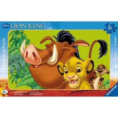 Ravensburger-06008 15 Teile Rahmenpuzzle - König der Löwen: Simba