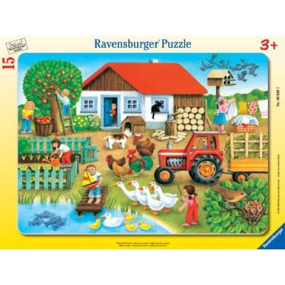 Puzzle Ravensburger-06020 Was gehört wohin?