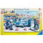 Puzzle  Ravensburger-06037 Die Polizei im Einsatz