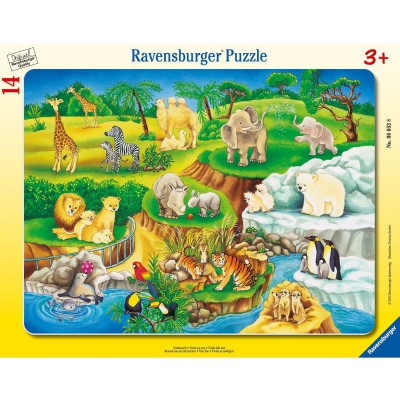 Puzzle Ravensburger-06052 Zoobesuch