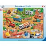 Puzzle  Ravensburger-06058 Arbeit auf der Baustelle