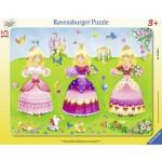 Puzzle  Ravensburger-06063 Schöne Prinzessinnen