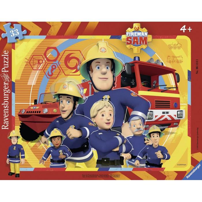 Rahmenpuzzle - Feuerwehrmann Sam