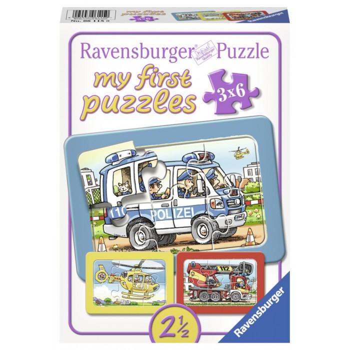 My first Rahmenpuzzle - Feuerwehr, Polizei, Krankenwagen