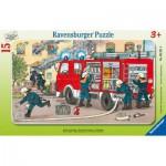 Puzzle  Ravensburger-06321 Mein Feuerwehrauto