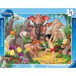 Ravensburger-06398 30 Teile Rahmenpuzzle - Das Dschungelbuch: Mogli und Balu
