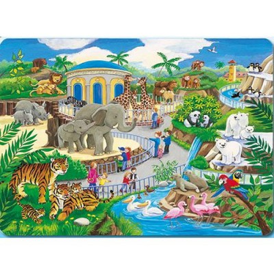 Puzzle Ravensburger-06661 Zoobesuch
