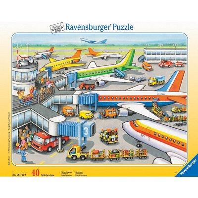 Puzzle Ravensburger-06700 Kleiner Flugplatz